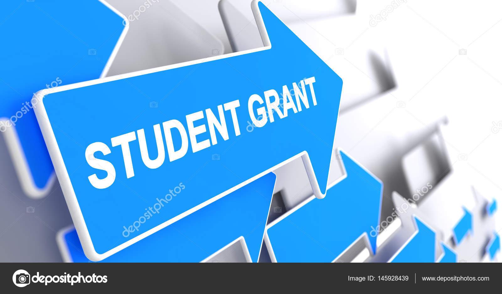 depositphotos 145928439 stock photo student grant label on blue